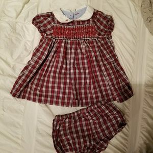 Tommy Hilfiger Dress and diaper cover